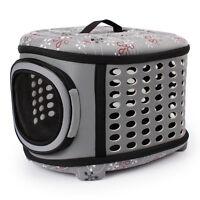 Foldable Portable Pet Dog Cat Sided Carrier Travel Tote Shoulder Bag Cage Kennel