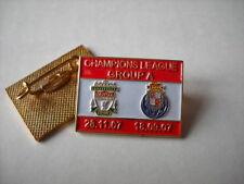 a1 PORTO - REDS cup uefa champions league 2008 spilla football pin