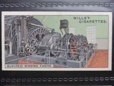 No.29 ELECTRIC WINDING WHEEL YORKSHIRE Engineering Wonders W.D.& H.O. Wills 1927