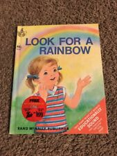 Vintage Start-Right Elf Book Look For A Rainbow