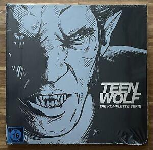 TEEN WOLF KOMPLETTE SERIE (STAFFELN 1-6) in der BOOK EDITION auf Blu-Ray-Discs