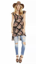 RALPH LAUREN D & S $125 Womens New 6591 Black Floral Baby Doll Dress 4