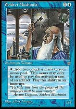 Soldevi Machinist X4 EX/NM Ice Age MTG Magic Cards Blue Wizard Mana Source