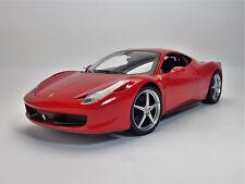 1:18 Hot Wheels Ferrari 458 Italia in rot