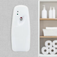 Air Freshener Light Sensor Automatic Aerosol Wall Mounted Toilet 300ml Dispenser
