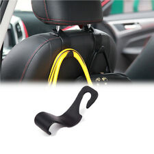 Car Seat Hook Purse bag Hanger Bag Organizer Holder Clip Black Auto Accessories