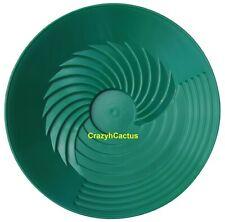 "Turbopan Gold Pan GREEN 10"" VORTEX ACTION! Panning Prospecting Mining Sluice NEW"