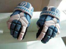 Warrior Lacrosse Gloves Blue, White, Men's