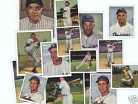 1952 New York Yankees Bowman Reprint set & 1953 SIX  Bowman Stars Mickey Mantle