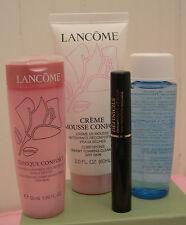 Lancome Creme Mousse Tonique Confort Bi-Facil Definicils Mascara Black Travel Sz