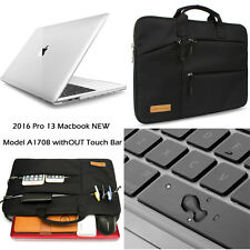 """Luxury Sleeve Bag Clear Hard Case Cover Keyboard For 2016 Macbook Pro15.4"""" A1707"""