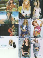 Lovely Ladies 10 telefoonkaarten/télécartes  (TT709-10c)