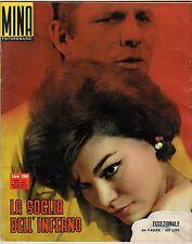 fotoromanzo MINA ANNO 1962 NUMERO 1 LA SOGLIA DELL'INFERNO