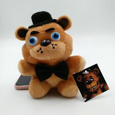 "Fnaf 4.7"" Plush Sanshee Plushie Kids Five Nights at Freddy's Toys Bear Big Tie"
