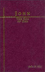 Son of God Hardcover John R. Rice