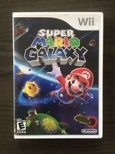 Super Mario Galaxy Nintendo Wii Game TESTED and WORKS!