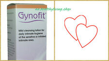 GYNOFIT Intimate Cleansing Lotion 200ml Daily Hygiene Lactic Acid Perfume