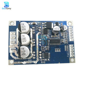 DC Brushless Motor 12V-36V 20A 500W PWM Control Controller + Hall Driver Board