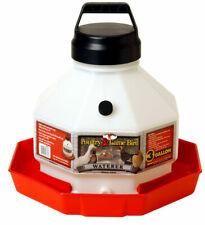 Little Giant Ppf3 Plastic 3 Gallon Poultry Waterer