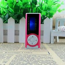 Portable Pink Shiny Mini USB Clip LCD Screen MP3 Media Player