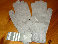 ADIDAS WOMEMS ESSENTIAL GLOVES BNWT SIZE MEDIUM