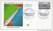 Usine Marémotrice de la Rance - 03 12 1966 - Saint Servan