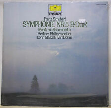 Maazel SCHUBERT Symphony No.5, Bohm SCHUBERT Rosamunde - DG 2535 398 SEALED