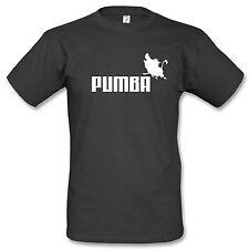 Pumba T-Shirt Fun Kult Timon König der Löwen Cartoon Disney Comic Warzenschwein