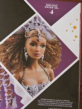 2016 Barbie Luciana Global Glamour Gold Label Direct Exclusice  DGW47 In Stock