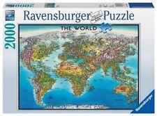 Ravensburger - World Map Puzzle 2000pc Jigsaw