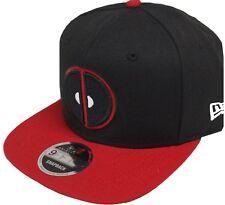 New Era Deadpool Black Red Marvel Comics Snapback Cap 9fifty Limited Edition New