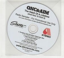 (HD637) QNC & AIM, The Habit Of A Lifetime sampler - DJ CD