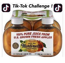 TIK TOK Martinellis Gold Medal 100% Apple Juice 10 Fl. oz 1 Bottle SAME DAY SHIP