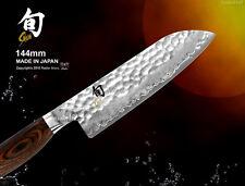 Kai Shun Premier Damascus Santoku Vegetable Knife 144mm Japanese Cutlery