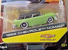 MAISTO DESIGN 2016 1/64 MUSCLE LIME GREEN 1955 CHEVROLET NOMAD WAGON NEW! COOL!