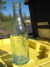Light Aqua WRIGHT'S C.E.W. Base Script Coca Cola Coke Bottle Greenwood Ms
