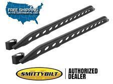 Smittybilt SRC Rocker Guard w/ Plate for 2007-2017 Jeep Wrangler JK 2 Door 76645