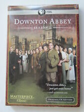 DOWNTON ABBEY  SEASON TWO(2011)LBX (BRAND NEW) (MASTERPIECE THEATRE) PBS RELEASE