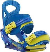 BURTON Mission Smalls Gr. S ( Boots 34-38) Kinder Snowboard Bindung UVP 140€ NEU