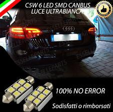 LUCI TARGA LED AUDI A4 B8 8K AVANT LUCI TARGA LED CANBUS NO ERROR 6000K