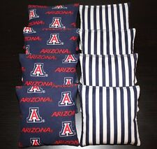 All Weather Arizona Wildcats 8 Cornhole Bean Bags 8 Waterproof!