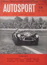 AUTOSPORT magazine 13/4/1956 Vol.12. No.15