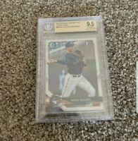 2018 Bowman Chrome Jordan Groshans RC Rookie Refractor BGS 9.5 🔥📈
