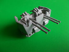 4 Barrelled Bofors Gun in 1/72nd Scale.  Model Boat Fittings.