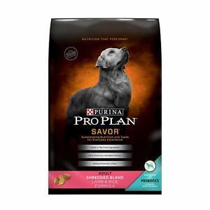 Purina Pro Plan Savor Dog Food Shredded Blend [Lamb & Rice] (35 lb)