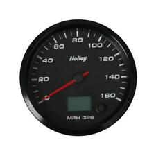 "Holley Speedometer Gauge 26-610; Speedometer 0 to 160 MPH 4-1/2"" Full Sweep GPS"