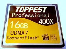 COMPACT FLASH CARD 16GB 400X CF Speicherkarte MEMORY CARD NEU Schnäppchen