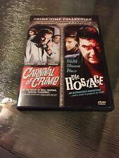 Film Noir ~ Carnival of Crime / The Hostage (DVD)  Harry Dean Stanton