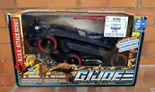 Gi Joe Vehículo Alfa 2011 Wave 1 Exclusivo-silbido de ataque Scout