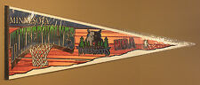 Tag Express Minnesota Timberwoves Full Color 30x12 Pennant